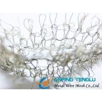 Quality Combination Knitted Wire Mesh, Metal and Non-Metal Wire Combinations wholesale