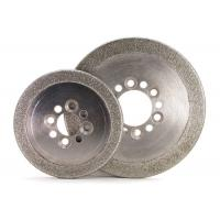 Quality Round Edge Electroplated Diamond CBN Grinding Wheels ISO9001 Certification wholesale