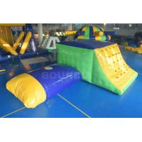 Buy cheap 0.9mm Durable PVC Tarpaulin Inflatable Jumping Platform And Pillow With Slide product