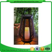Quality Decorative Outdoor Lighting / Rattan Garden Lights For Home Decoration wholesale