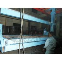 Quality Cement Panel / Brick AAC Block Cutting Machine Aerial Turnover Machanism wholesale