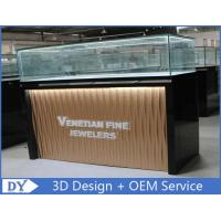 Cheap Custom Modern Design Glass Jewellery Shop Display Counters With led lights for sale