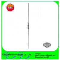 China forged iron  baluster for iron garden fence on sale