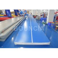 Quality Tumble Track Inflatable Air Mat / Gymnastics Air Track For Physical Training wholesale