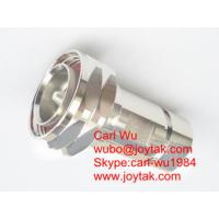 Buy cheap DIN 7/16 male connector clamp type for 1/2 superflex cable RF jumpers VSWR 1.15 all brass China factory made from wholesalers