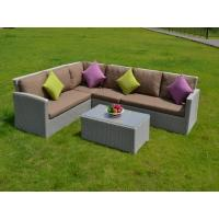 China 2016 Rattan garden furniture set sofa table chairs,rattan dining chairs,Alum wicker  on sale