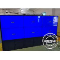 Buy cheap 6 Monitors Touch Screen Kiosk Monitor Floorstanding TV Screens 49 Inch High from wholesalers