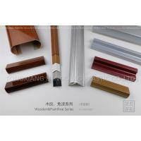 Quality Extruded Custom Plastic Profiles For Structure / Decoration Parts wholesale