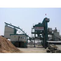 Side Type 60T Finished Product Bin All Asphalt Mixing Plant With 16 Ton Asphalt Storage Tank
