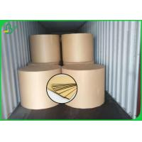 Quality 160GSM Good Quality FSC Brown Color Kraft Liner Board For Making Storage Box wholesale