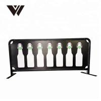 China PVC Coffee Shop Barriers Weatherproof Light Weight For Advertising Event Exhibitions on sale