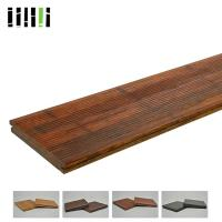 Outdoor High Density 1220kg/m³ Bamboo Flooring Tiles Eco Friendly With Fine