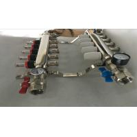 Quality 304 Or 201 Stainless Steel Radiant Floor Heating Manifold 5 Ways wholesale