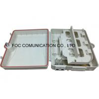 Quality FTTH Optical Fiber Distribution Box / Outdoor Cable Enclosure Box ISO RoHS Listed wholesale