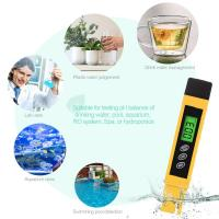 Quality White / Yellow Pocket TDS Meter 0-4999 PPM For Pure Water Test Measuring wholesale