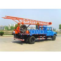 Quality Portable Mobile Core Drilling Equipment , Drill Depth 100m Truck Mounted Drilling Rig wholesale