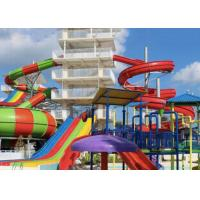 Buy cheap Theme Park Fiberglass Water Slide Customized Closed Tube Spiral FRP For Adult from wholesalers