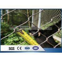 Quality Hand Woven Stainless Steel Zoo Mesh/ Animal Enclosure Fence wholesale