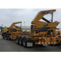 Quality Tri-Axle Side Lifter Container Side Loader Trailer For 20 Ft 40ft Container wholesale