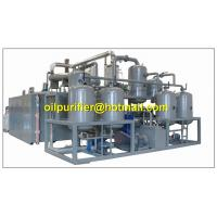 China Black Engine Oil Distillation System, Motor Oil Recycling machine,base oil production on sale