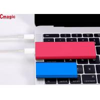 Quality Pocket Size Solid State External Hard Drive , Cmagic USB Solid State Drive SSD Style wholesale