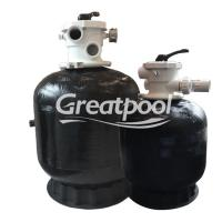 Quality Eco Friendly Water Filtration Top Mount Sand Filter Black Sand Cleaning Machine wholesale