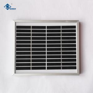 China ZW-2.5W-12V Residential Solar Power Panels for DIY 12V 2.5W Glass Laminated Solar Panel on sale