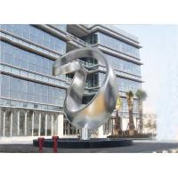 Quality Abstract Art Design Large Outdoor Metal Sculptures ODM Accept Long Life wholesale