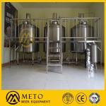 Used micro brewery, stainless steel, 1000 l beer/brew