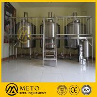 Cheap Used micro brewery, stainless steel, 1000 l beer/brew for sale