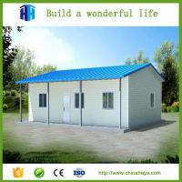 Quality small prefab modern steel beautiful house model design in davao city wholesale