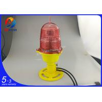 Quality ICAO type A low intensity LED based single aviation obstruction light wholesale