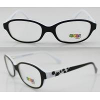 Cheap White And Black Hand Made Acetate Optical Frames , Eye Optical Frames for sale