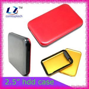 Quality 2.5 external hard drive enclosure hdd caddy box wholesale
