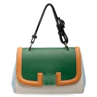 cheap nice green small womens leather crossbody bag for