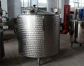 China SUS304 Fruit Juice Production Line Temperature Insulation Storage Tank on sale