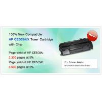 China Compatible HP CE505A/X Toner Cartridge with Chip on sale