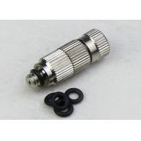 Quality High pressure cooling cleanable Anti-drip ruby orifice fog misting nozzle wholesale