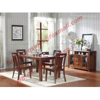 Quality High Quality Solid Wooden Furniture Dining Table with Chair wholesale