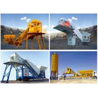 China Good Cost Effective Ready Mix Cement Yhzs 35 Mobile Concrete Mixing Batch Plant on sale