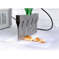 Quality Customized Color Ultrasonic Cutting Machine For Frozen Tomato Meat Food wholesale