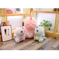 Quality Cute Pink Dinosaur Soft Toy Doll Handcuffs Two In One Plush Toy CE Approved wholesale