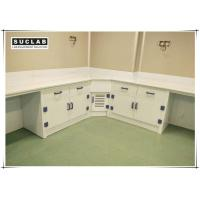 Buy cheap Acid And Alkali Resistant PP Laboratory Casework With Corner Cabinet from wholesalers