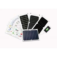 Quality ETFE Coating Solar Mobile Phone Charger 5W 6W 7W With Auto Restart Tech wholesale