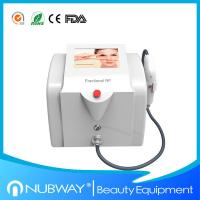 China Portable fractional rf home laser skin tightening on sale