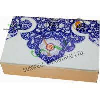 China Both Sides Printing Cardboard Food Packaging Boxes , Mooncake Display Packaging Box on sale