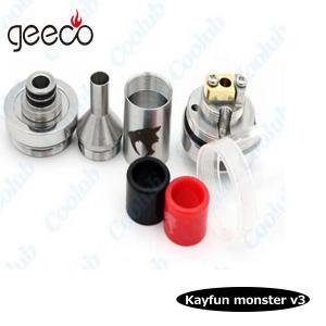 Quality Geeco 1:1 clone kayfun monster v3 rta rebuildable tank kayfun monster v3 for sx min m clas wholesale