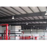 Quality Steel Framing Car Showroom Building Exhibition Hall With Glass Curtain wholesale