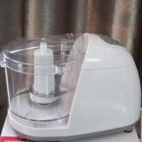 Quality 1L Stainless steel blade Electric Food Chopper with glass, plastic cup wholesale