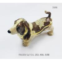 China Wholesale dogs shaped jewelry boxes metal favor boxes gift box on sale